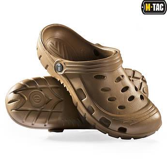 Тапочки резиновые пвх, кроксы crocs, мужские шлепанцы, обувь M-TAC, обувь EVA Эва, крокси чоловічі, 43 р