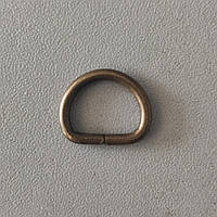 Полукольцо литое 13 мм антик