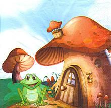 Серветка декупажна Будинок жабеня 5203