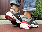 Мужские кроссовки Nike М2K Tekno (серые) 9802, фото 3