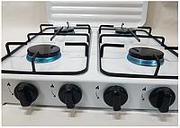 Газовая плита на 4 конфорки DOMOTEC MS 6604,плита кухонная, фото 1