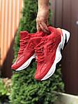 Мужские кроссовки Nike М2K Tekno (красные) 9804, фото 2
