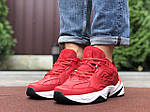 Чоловічі кросівки Nike М2К Tekno (червоні) 9804, фото 3