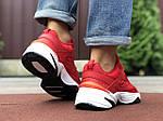 Мужские кроссовки Nike М2K Tekno (красные) 9804, фото 4