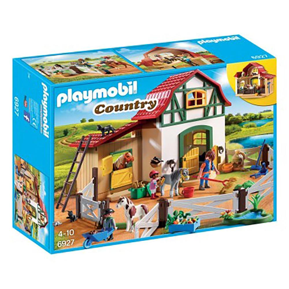 """Набір """"Ферма для поні"""" Playmobil (4008789069276)"""