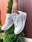 Чоловічі кросівки Nike Air Max 90 (білі) 9806, фото 2