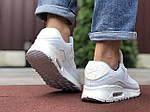 Чоловічі кросівки Nike Air Max 90 (білі) 9806, фото 3