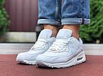 Чоловічі кросівки Nike Air Max 90 (білі) 9806, фото 4