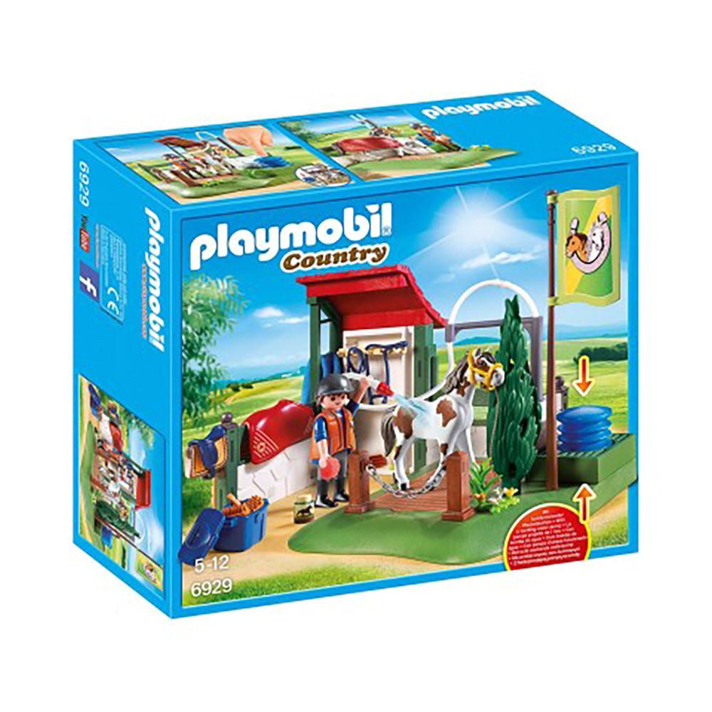 """Игровой набор """"Лошадиная парикмахерская"""" Playmobil (4008789069290)"""