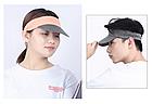 Візор / кепка NORTHFLAG у вигляді обруча з гнучким складним козирком і силіконові кільця для фіксації ME-D, фото 5