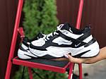 Жіночі кросівки Nike М2К Tekno (біло-чорні) 9807, фото 2