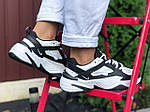 Жіночі кросівки Nike М2К Tekno (біло-чорні) 9807, фото 3