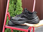 Женские кроссовки Nike М2K Tekno (черные) 9808, фото 3