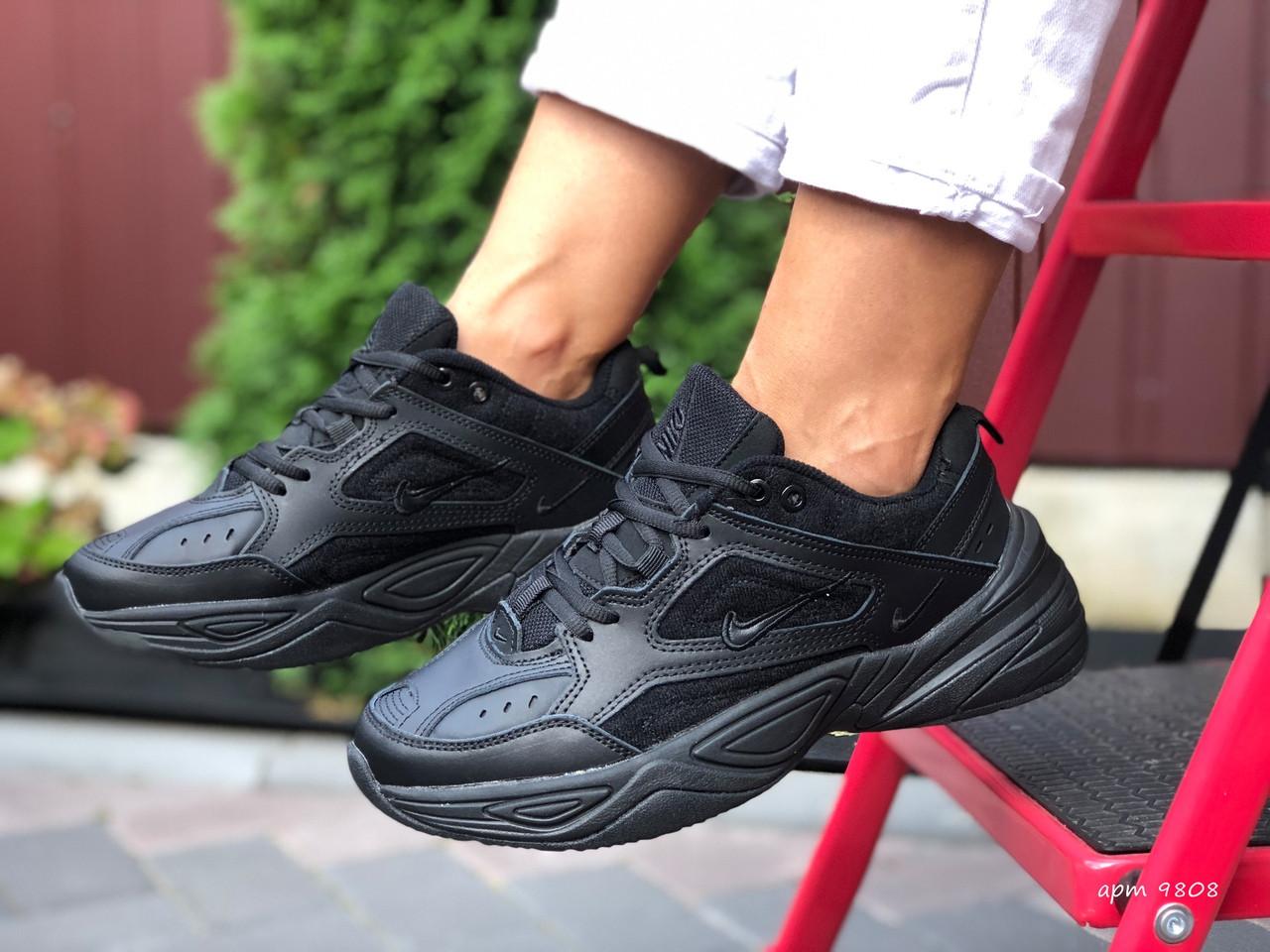 Женские кроссовки Nike М2K Tekno (черные) 9808