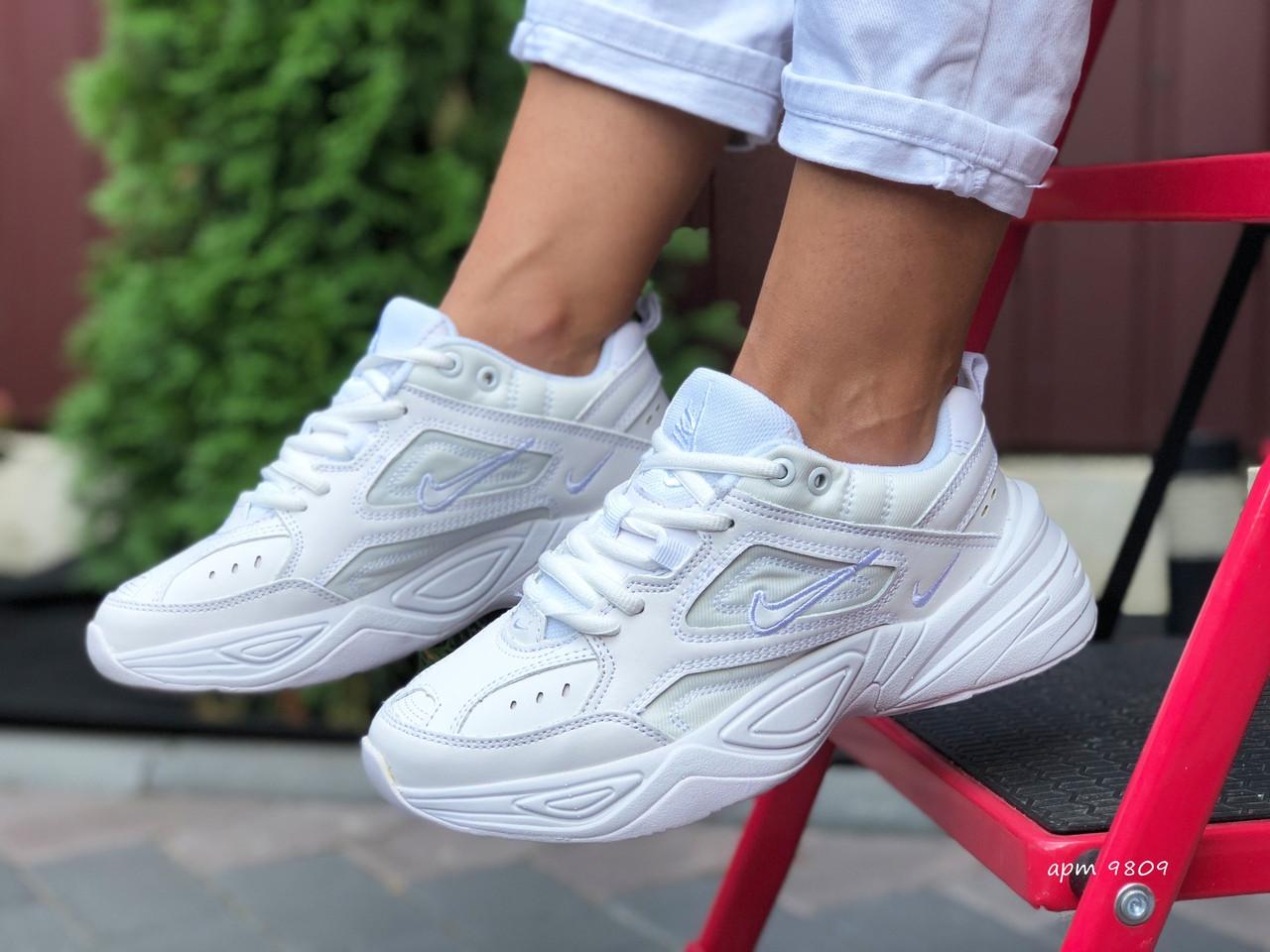 Жіночі кросівки Nike М2К Tekno (білі) 9809