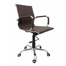 Кресло офисное Bonro B-605 коричневое