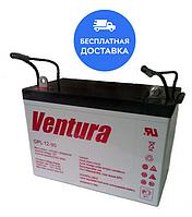 Аккумуляторная батарея Ventura GPL 12-90, емкость 90Ач, аккумулятор для ИБП