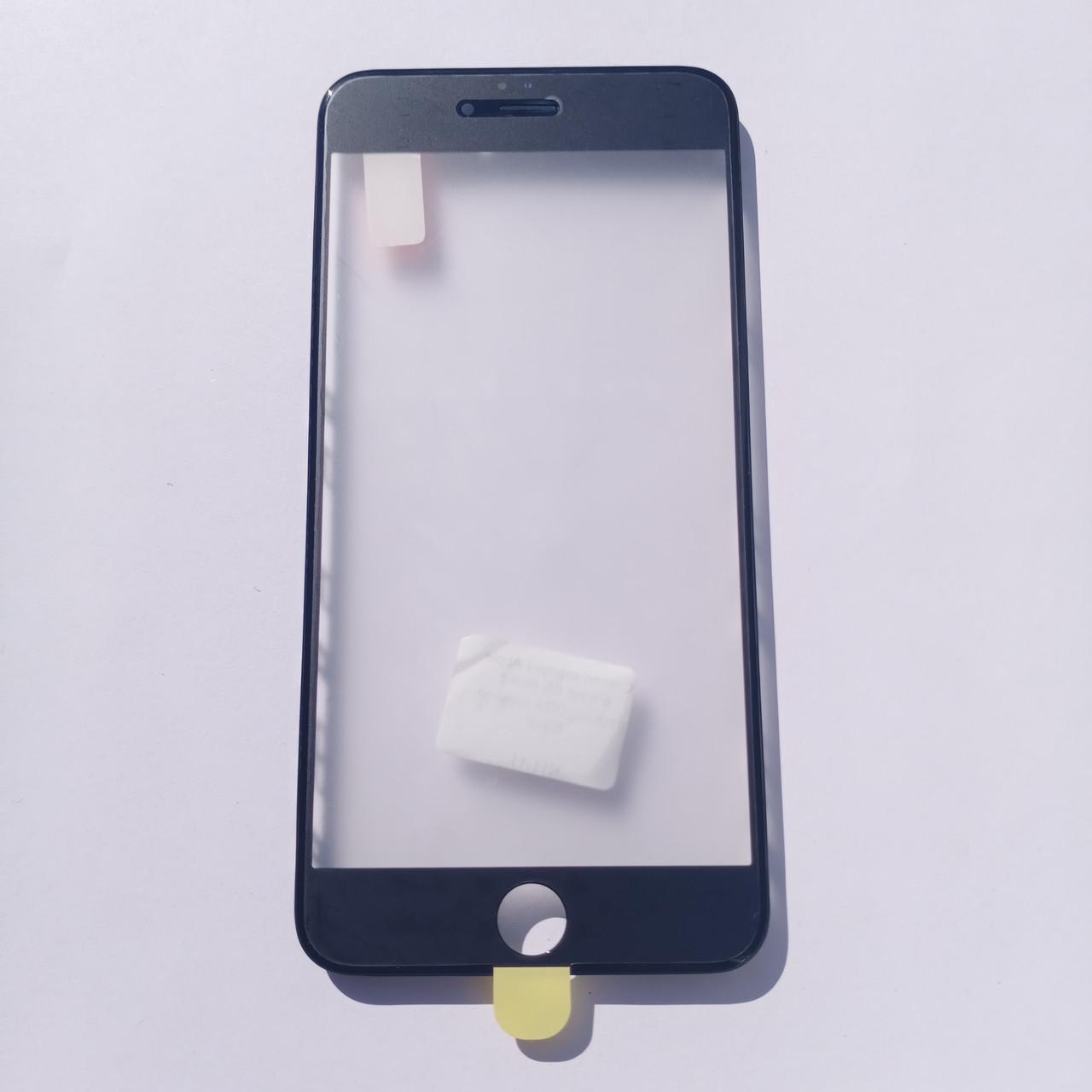 Скло корпусу Novacel для Apple iPhone 6S Plus з рамкою OCA плівкою Black