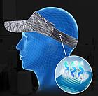 Визор / кепка NORTHFLAG  в виде обруча с козырьком с махровой вставкой для впитывания пота JH-C-ME-J, фото 5
