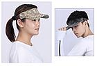 Визор / кепка NORTHFLAG  в виде обруча с козырьком с махровой вставкой для впитывания пота JH-C-ME-J, фото 2