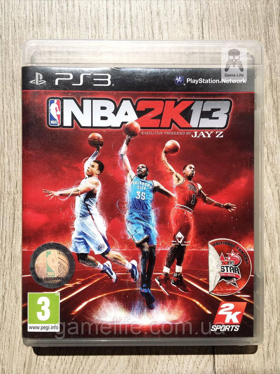 NBA 2K13 (английская версия) (б/у) PS3