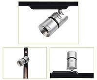 Светильник для подсветки витрин  LED Mini magnetic track FY-COB3 -3W 4000K  12V Silver, фото 3
