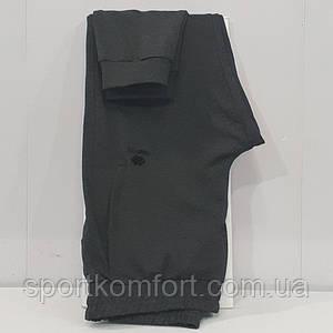 Спортивні трикотажні штани турецькі, сірі TOMMY LIFE гумка 80 бавовна