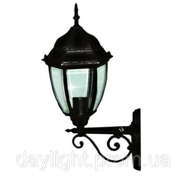 Фасадный светильник Lemanso PL6660 черный, металл