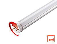 Лампа светодиодная T8 LEDMAX 9W 0.6M 6500K 220V ST матовая с поворотным цоколем (LM-8069483R)