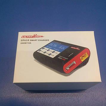 Зарядное устройство UltraPower UP610 Ni,SLA,Li… баланс 6Li, mikUSB, от12V Цветной дисплей