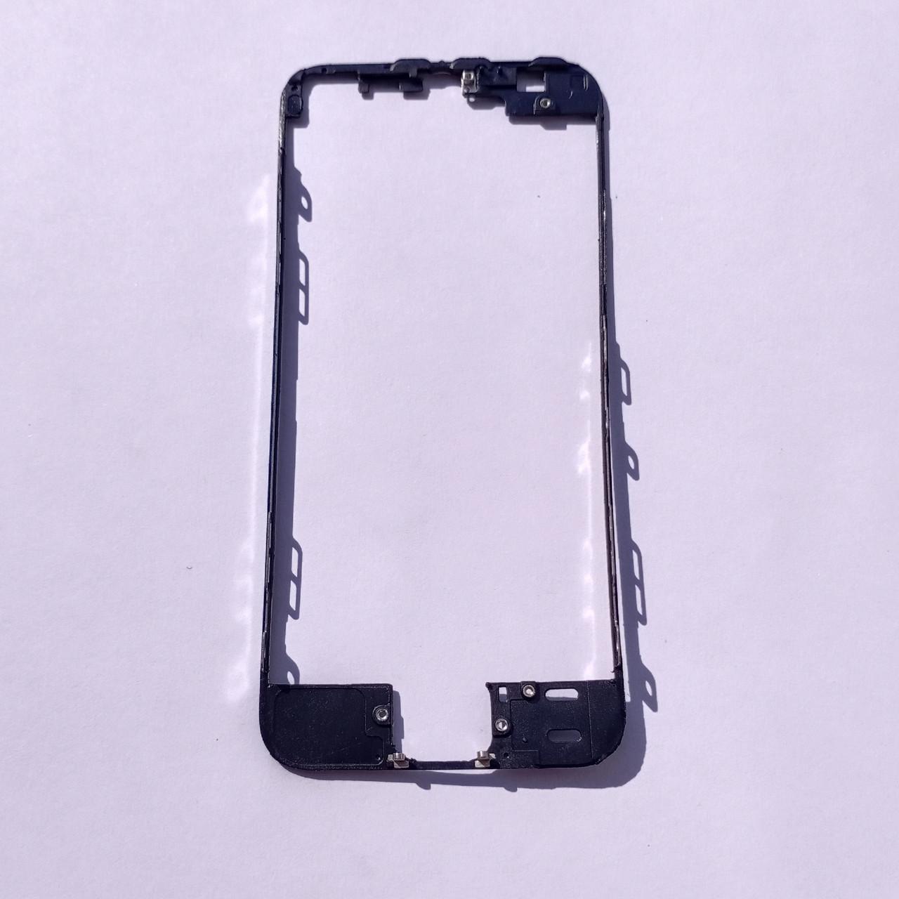 Рамка кріплення дисплейного модуля Novacel для Apple iPhone 5S Black