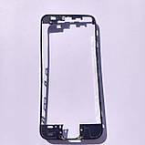 Рамка кріплення дисплейного модуля Novacel для Apple iPhone 5S Black, фото 2