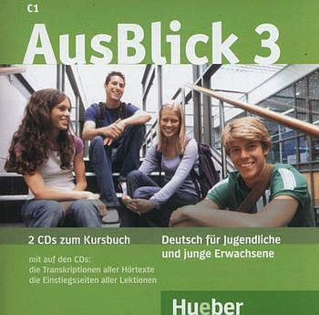 AusBlick 3 Audio CDs zum Kursbuch