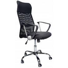 """Кресло офисное комп""""ютерное Bonro Manager чорное"""