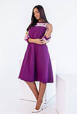 Платье, №137, фиолетовое, 48-58р., фото 3