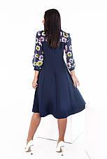 Платье, №137, синее, 48-58р., фото 3
