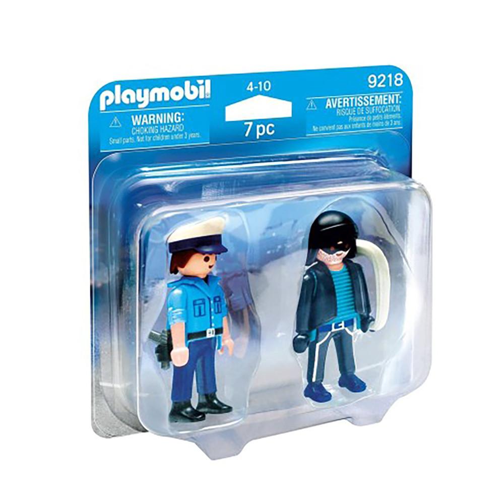 """Фігурки """"Поліцейський і злодій"""" Playmobil (4008789092182)"""