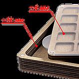 Органайзер для бисера многоярусный FLZB-090, фото 3