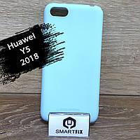Силіконовий чохол для Huawei Y5 (2018) (DRA-L21), фото 1