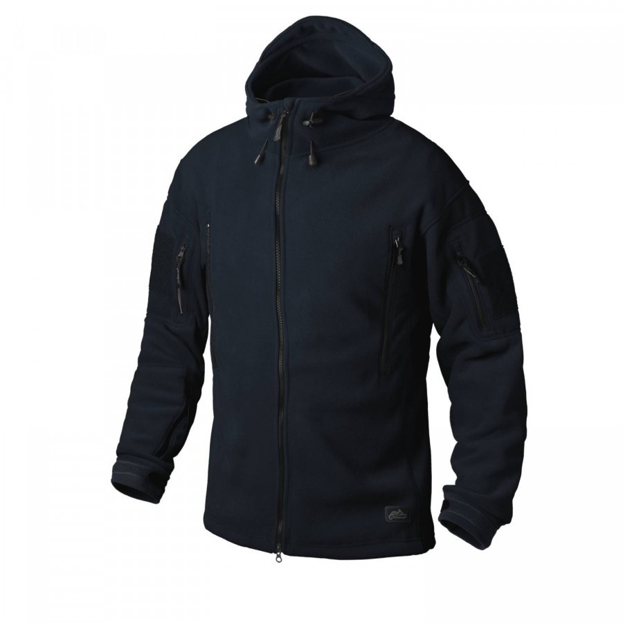 Тактическая куртка Helikon PATRIOT Double Fleece - Navy Blue