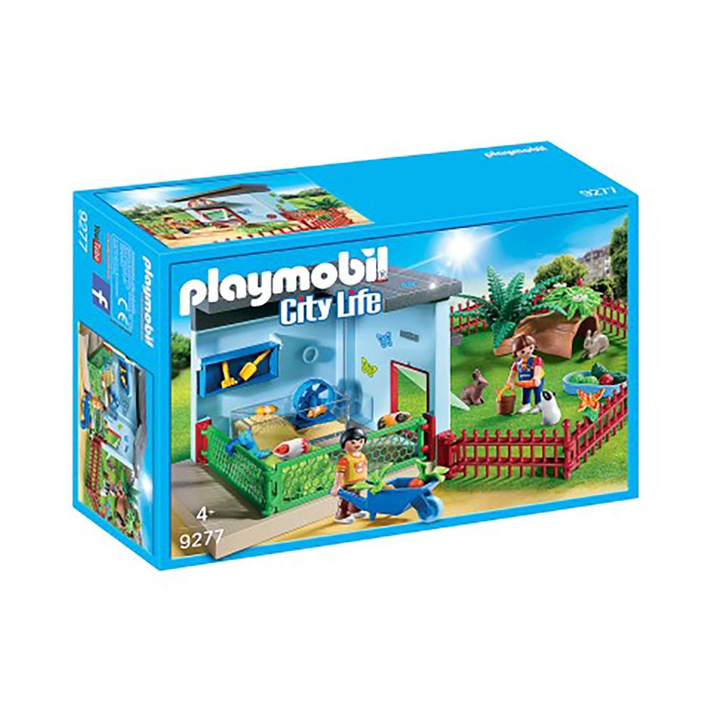 """Ігровий набір """"Притулок для маленьких звірів"""" Playmobil (4008789092779)"""