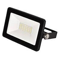 Прожектор світлодіодний TF-3 20Вт, 220-260В, 4500K-5000K, яскраве світло, 1600Lm, корпус чорний, Electro