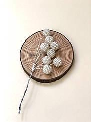 Бусинки шарик на проволоке  8 шт