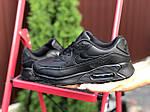 Жіночі кросівки Nike Air Max 90 (чорні) 9810, фото 3