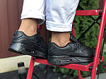 Жіночі кросівки Nike Air Max 90 (чорні) 9810, фото 4
