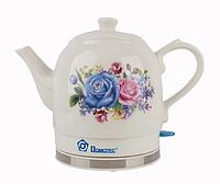 Чайник керамичиский Domotec MS-5052 1,5 л, фото 1