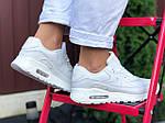 Жіночі кросівки Nike Air Max 90 (білі) 9811, фото 4