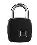 Умный замок с отпечатком пальца водонепроницаемый Lock AnyTek P3 Black, фото 3