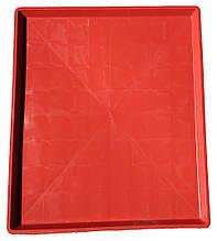 Поддон для клеток пластиковый Н-Т 68х78х3 красный
