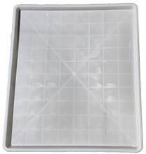 Поддон для клеток пластиковый Н-Т 68х78х3 белый